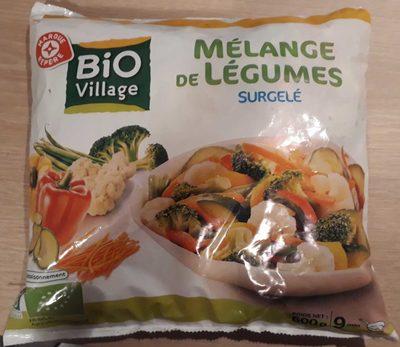 Mélange de légumes - Produit