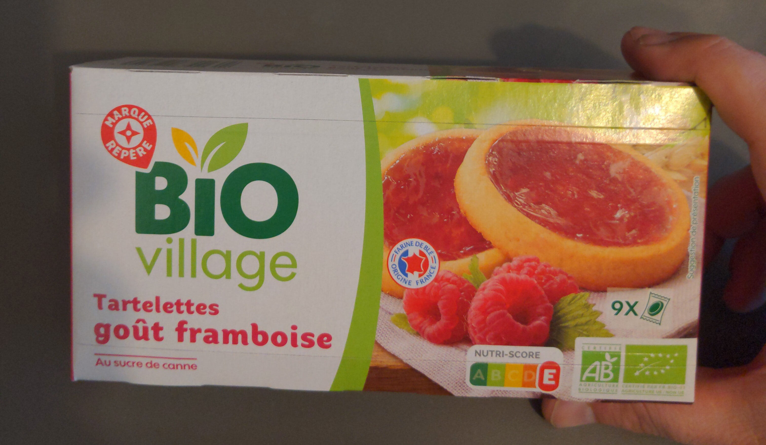Tartelettes framboise - Produit - fr