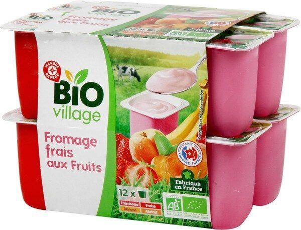 Fromage frais aux fruits x 12 - Product - fr