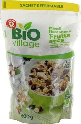 Muesli flocon fruits secs - kg - Product