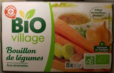 Bouillon de légumes et aromates Bio (8 tablettes) - Produit