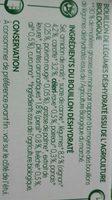 Bouillon de légumes et aromates Bio (8 tablettes) - Ingrédients