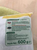Haricots verts bio - Ingrediënten