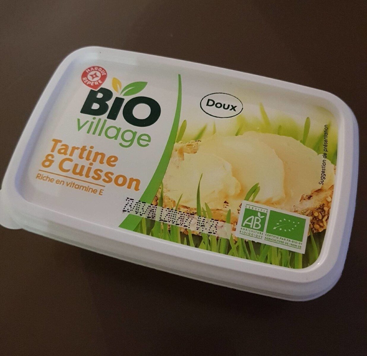Matière grasse végétale bio 58 % Mat. Gr. - Produit