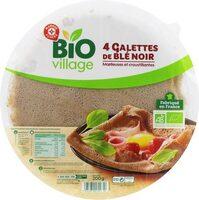 Galettes de blé noir x4 - Produit - fr