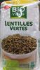 Lentilles vertes Bio - 500 g - Bio Village - Product