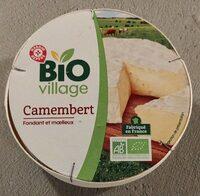 Camembert au lait pasteurisé 21% Mat. Gr. - Produit - fr