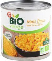 Maïs bio sans sucres ajoutés - Produit - fr