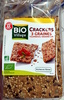 Crackers 3 graines Tournesol - Sésame - Lin - Product