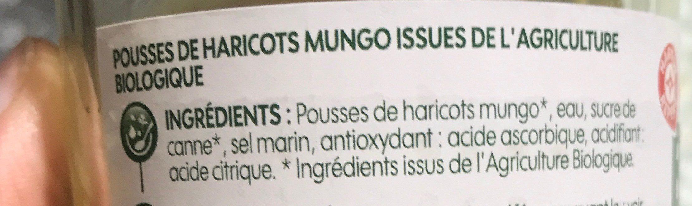 Pousses de soja - Ingrédients - fr