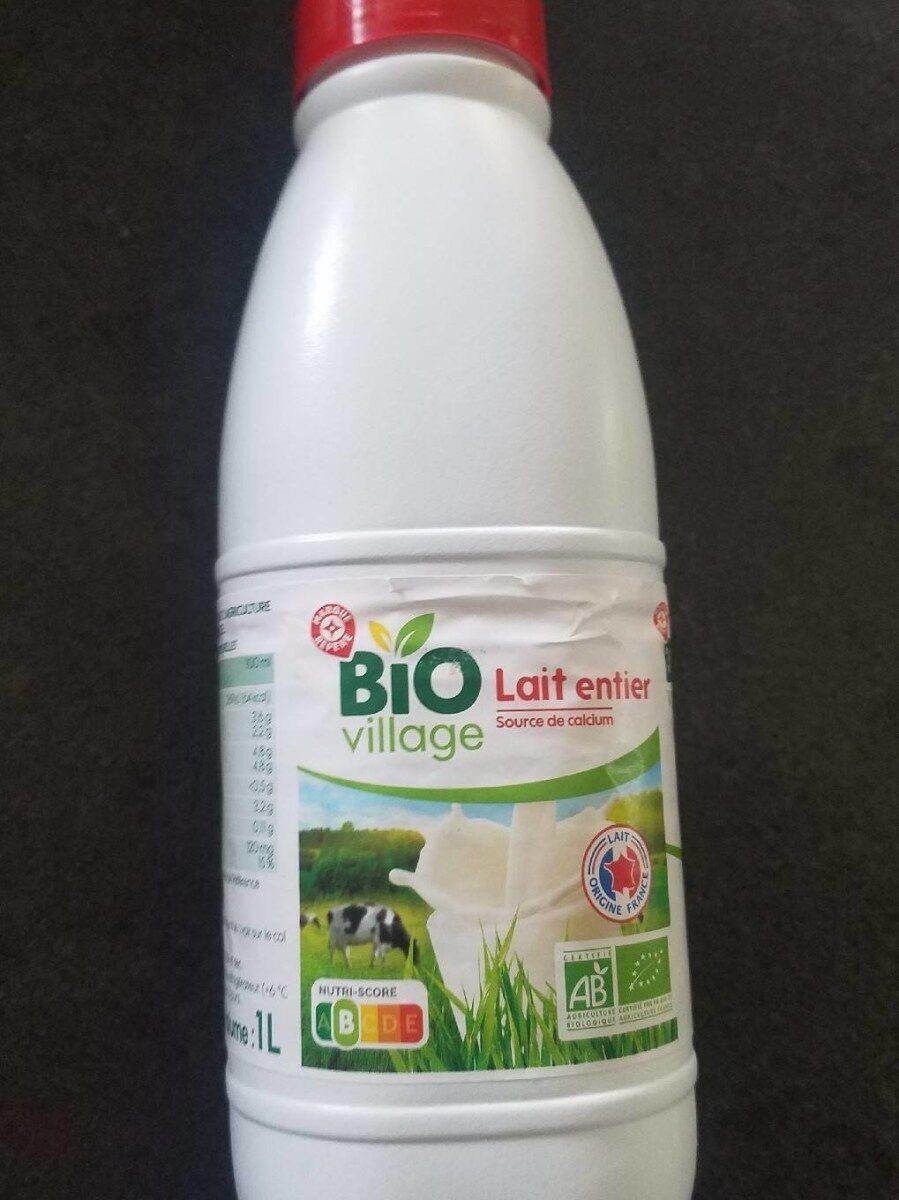 Lait UHT entier bio - Prodotto - fr