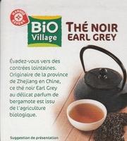 Thé noir Earl Grey bio x 20 sachets - Informations nutritionnelles