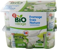 Fromages frais natures bio - Product - fr