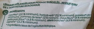 Légumes bio pour potage - Ingrediënten - fr