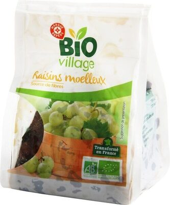 Raisins moelleux bio - Produit