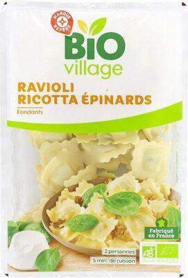 Ravioli bio ricotta épinards - Product