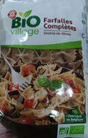 Farfalles au blé complet bio - Produit - fr