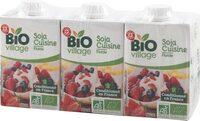 Préparation culinaire au soja bio 200 ml x 3 - Product