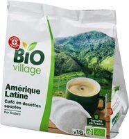 Dosettes café bio Amérique Latine x 18 - Product - fr