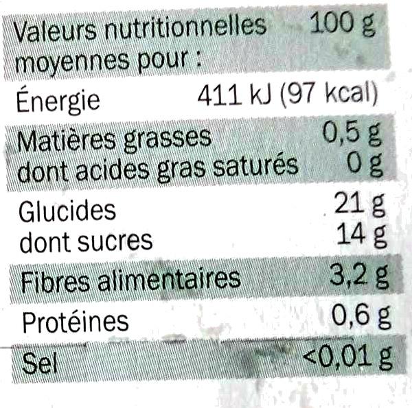 Pomme ch taigne bio village 4x 100 g - Acide citrique leclerc ...