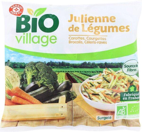Julienne de légumes bio - Product - fr