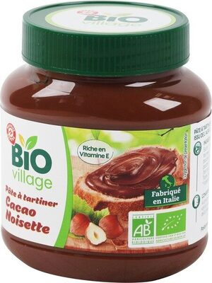 Pâte à tartiner bio - Product - fr