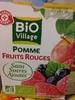 Dessert Fruitier Pomme Fruits Rouges Sans Sucres Ajoutés - Product