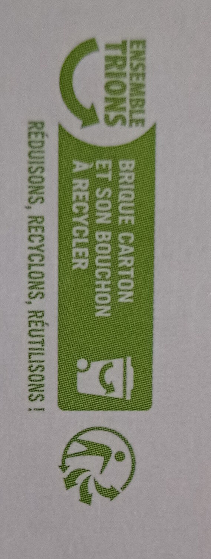 Boisson au riz bio - Instruction de recyclage et/ou informations d'emballage - fr