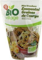 Mini crackers bio graines de courge et fromage - Product - fr