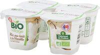 Riz au lait bio à la vanille - Produkt - fr