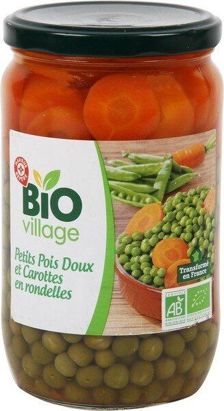 Petits pois carottes extra fins bio - bocal - Producto - fr