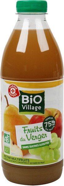 Nectar fruits du verger bio - Product