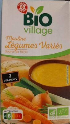 Mouliné de 7 légumes bio - Produit - fr