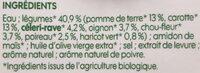 Mouliné de 7 légumes bio - Ingrédients