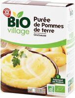 Purée nature bio 2 x 125 g - Product - fr