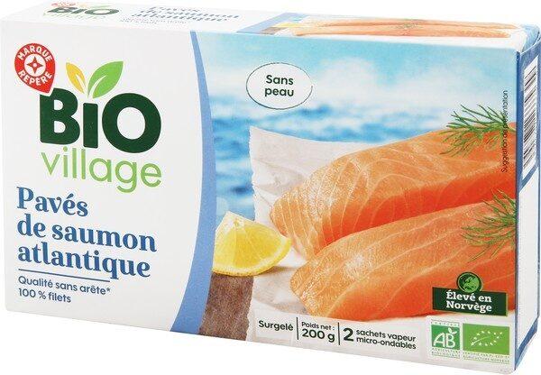 Paves de saumon bio - Product - fr