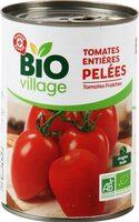 Tomates entières pelées bio - Produit