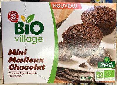 Mini moelleux chocolat bio x 6 - Product - fr