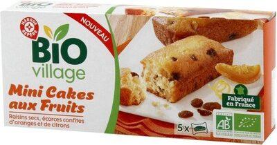 Mini cakes aux fruits bio x 5 - Product - fr