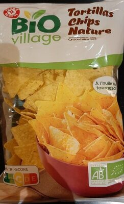 Tortillas chips nature bio - Product - fr