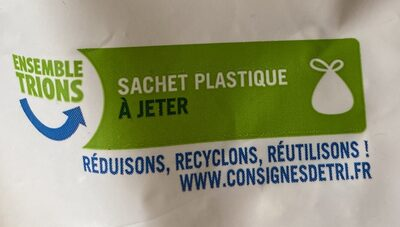 Flocons d'avoine cérélae complète bio - Recycling instructions and/or packaging information - fr