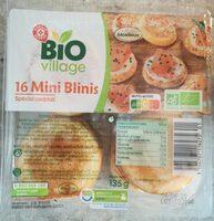 16 mini blinis - Produit - fr