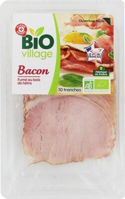 Bacon bio 10 tranches - Product