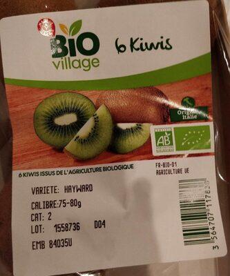 6 kiwi - Ingrédients - fr