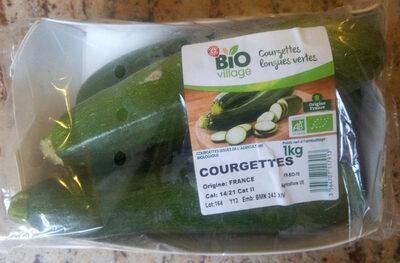Courgettes longues vertes - Produit - fr