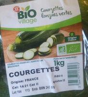 Courgettes longues vertes - Ingrédients - fr