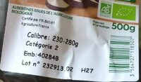 Aubergine - Ingredients - fr