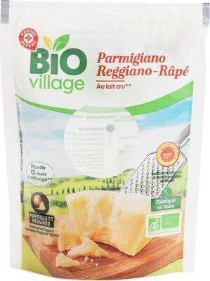 Parmigiano reggiano bio râpé A.O.P. 30% Mat. Gr. - Produit
