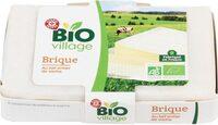 Brique au lait entier de vache bio 25% Mat. Gr. - Product - fr