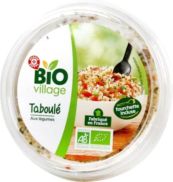 Taboulé aux légumes bio - Produit - fr